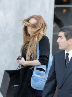 Bónito do Nilo Lindsay Lohan, Leather Jacket, Denim, Jackets, Fashion, Studded Leather Jacket, Down Jackets, Moda, La Mode