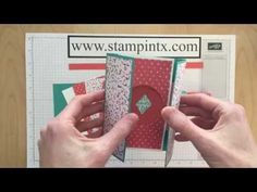 Love this Shutter Card!▶ Step-by-Step Tutorial for Creating a Shutter Card - YouTube