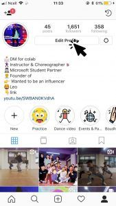 business intelligence instagram