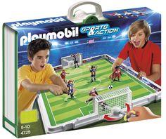 ¡Chollo! Maletín Set de Fútbol de Playmobil (4725) por sólo 35 euros.
