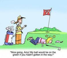 Understanding golf etiquette. #SucceedingAtGolf #golfingmemes Ladies Golf Clubs, Girls Golf, Golf Etiquette, Golfer, Golf Quotes, Golf Sayings, New Golf, Golf Player, Golf Humor