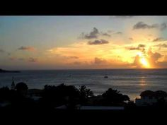 Sunset Over Grand Case from L'Esplanade, St. Martin #Caribbean