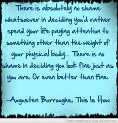 Augusten Burroughs- This is How