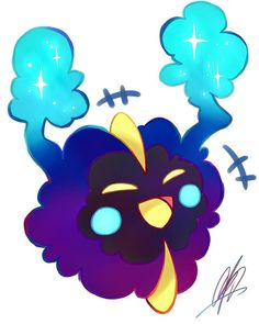 Day 2 - Favorite Psychic Yea I know I'm still at day 2 I've been quite busy okay shut up #pokecember #nebby #cosmog