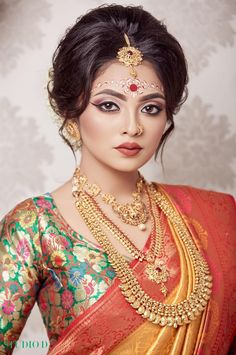 Bengali Bridal Makeup, Yoga Art, Girls Gallery, Beautiful Girl Indian, Princess Zelda, Bride, Creative, Beauty, Dresses