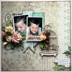 Spjuver - Scrapbook.com ...created by CamillaE (18-Mar-12) Wendy Schultz onto Scrapbook Layout's.