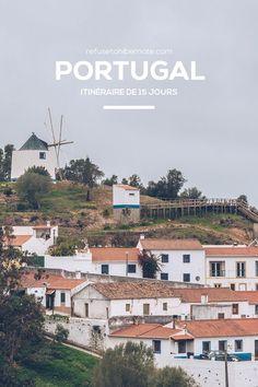Portugal, itinéraire de 15 jours | Via Refuse to hibernate blog |11/03/2018 Nous sommes allés au Portugal fin décembre / début janvier donc il faisait 3 à 16 degrés selon l'endroit où nous étions. .. #portugal