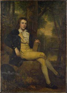 """Master Rees Goring Thomas"" attributed to Ralph Earl (1783-1784) at the Metropolitan Museum of Art, New York"
