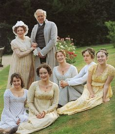 Pride and prejudice The Bennet family from the B.B.C's 1995. My fav version!!!