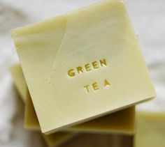 Start Your Own Business: Cold Process Green Tea Soap Tutorial