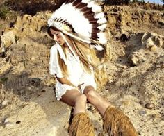 My granmother loved indians... Sometimes I dress like on in her honor. Seriously, ask my friends.
