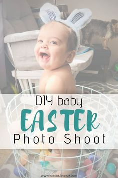 DIY Easter Photo Shoot Idea for Your Baby — Lorena & Lennox Bilingual Beginnings Easter Activities, Motor Activities, Holiday Activities, Sensory Activities, Toddler Activities, Newborn Photos, Baby Photos, All Family, Family Life