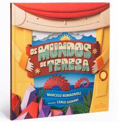 "Paper illustration and photography for the book ""Os Mundos de Teresa"". Author: Marcelo Romagnolli - Illustrations and photography: Carlo Giovani - Art Director: Helen Nakao - Publisher: Companhia das Letras"