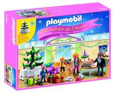 """Playmobil Calendario de Adviento - Pack """"Habitación de Navidad con árbol iluminado"""" (5496): Amazon.es: Juguetes y juegos"""