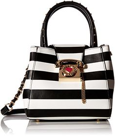 Betsey Johnson You Rang Bucket, Stripe Betsey Johnson