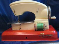 1950's Straco Toy Sewing Machine Jet Sew O Matic by bachsbarn, $12.00