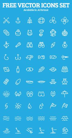 Sketch Style Free Vector Icons Preview 1 #sketchicons #lineicons #vectoricons #freeicons
