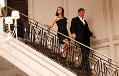 heather dubrow house -metal staircase design