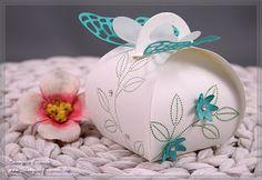 Stampin' Up Zierschachtel für Andenken, So Dankbar, Frühlings-Verpackung