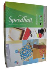 Speedball Paper Screen Printing Kit