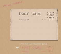 Post Cards, Labels, Monograms