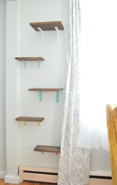 Shelves for cats -- Plaster & Disaster
