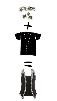 Diy tee shirt =veste