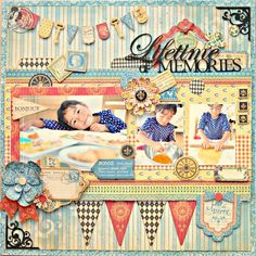 @Maiko D Miwa provides a sketch and tutorial to make this beautiful French Country layout! How gorgeous is this??