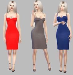 Lingerie Dress• CAS Standalone Recolor  • Custom Thumbnail  • 25 Colors  Mesh credits to @luxysims - ( You Need This Mesh )* Download * - SFSIf you use it tag @simply-simming