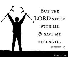 2 Timothy 4:17 | Bible Verses