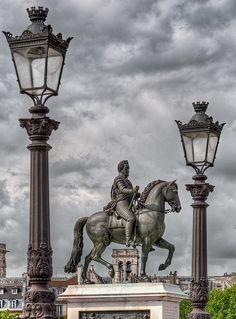 Statue of Henri IV, Pont de le Tournelle, Paris V