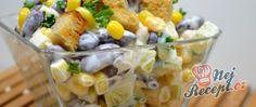 Recept Lehký kuřecí salát se zálivkou ze zakysané smetany a dijonské hořčice Potato Salad, Potatoes, Vegetables, Ethnic Recipes, Food, Raffaello, Potato, Essen, Vegetable Recipes