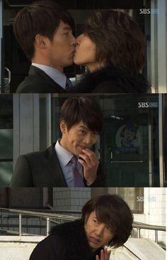 Secret Garden - Joo Won (Hyun Bin) and Oska (Yoon Sang Hyun).... This was such a funny part