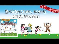 Brüderchen, komm tanz mit mir - Die besten Spiel- und Bewegungslieder || Kinderlieder - YouTube