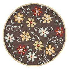 Safavieh Blossom BLM784A Area Rug - Brown/Multi - BLM784A-