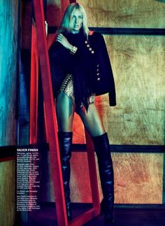 Marie Claire Magazine - Dark Rider  JULY 2012  Txema Yeste (Photographer)  Alison Edmond (Fashion Editor/Stylist)
