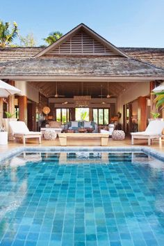 Located on Madam Zabre Beach, Dibwa Retreats have private wooden decks and infinity pools. Desroches Island Seychelles - Jetsetter