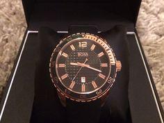 Sport Hugo Boss Rose Gold Men's Watch