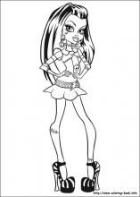 Monster High coloring pages on Coloring-Book.info