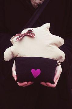 Poduszka MUFFINKA kolekcja *Ton Petit Muffin* (duża)