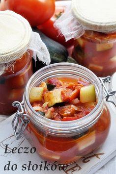 Polish Recipes, Jar Recipes, Polish Food, Meals In A Jar, Ketchup, Soups And Stews, Preserves, Pickles, Food And Drink
