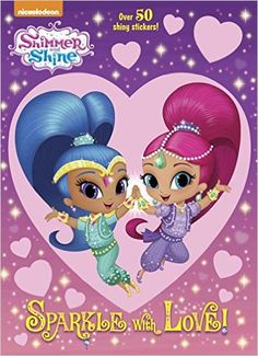 Shimmer And Shine Hologramatic Sticker Book Golden