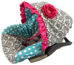 Infant Car Seat Covers For Girls | Ritzy Infant Car Seat Covers ...