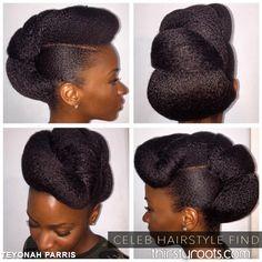 teyonah-parris-natural-hair-twisted-updo-bun-hairstyle