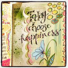 always choose happiness  (Pamela Jane's Studio)