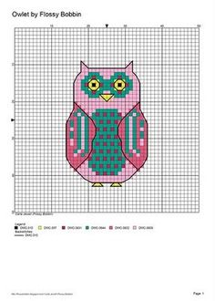 Free Cross Stitch Owl Pattern by olivialight Cross Stitch Owl, Cross Stitch Animals, Cross Stitch Charts, Cross Stitching, Cross Stitch Embroidery, Modern Cross Stitch Patterns, Cross Stitch Designs, Owl Quilts, Owl Patterns