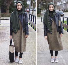 Hijab Fashion 2016/2017: Sélection de looks tendances spécial voilées Look Descreption ruba zai - Google'da Ara