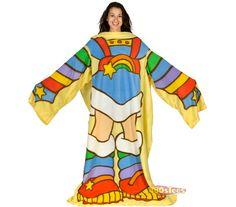 Rainbow Brite Snuggie   @Kristen Coomer I feel like you need this.