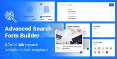 Advanced Search Form Builder - Price $29