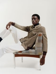 Assembled Check by Paul Smith in 004 Posy featured in Paul Smith's Autumn/Winter '20 Bank Holiday Edit.